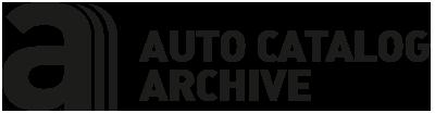 Auto Catalog Archive